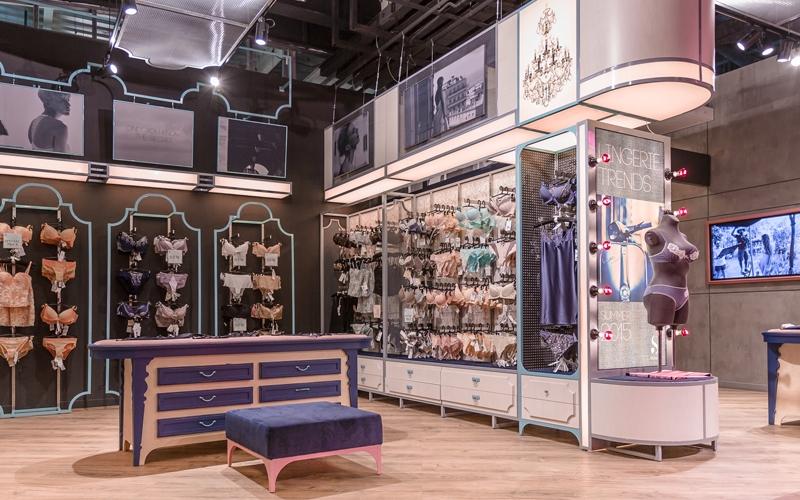 крупный магазин женского белья